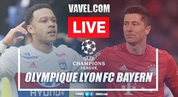 As it happened: Lyon 0-3 Bayern Munich