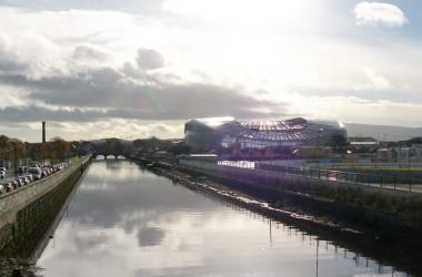 Aviva Stadium, Dublin, Ireland vs Greece international friendly.
