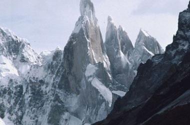 El Cerro Torre, en el Parque Nacional de los Glaciares (Argentina)