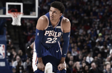 Thybulle helping the Sixers defensively