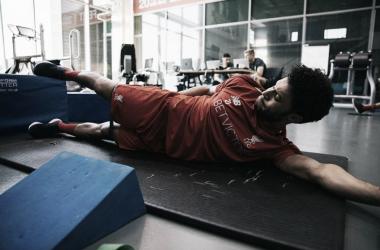 Oxlade-Chamberlain entrenando   Instagram deOxlade-Chamberlain