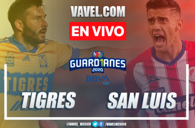 Goles y resumen: Tigres 3-0 Atlético de San Luis en Liga MX Guard1anes 2020