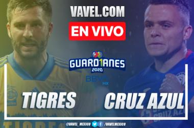 Resumen y goles Tigres 1-3 Cruz Azul Liga MX 2020
