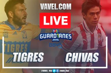 Goals and Highlights: Tigres 1-3 Chivas in 2020 Liga MX