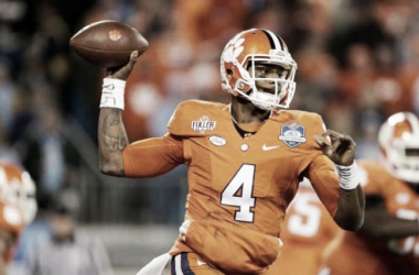 DeShaun Watson could be the only quarterback taken in the first round. | Photo Credit: AP