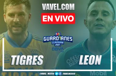 Goles y resumen: Tigres 2-0 León en Liga MX Guardianes 2021