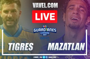 Goals and highlights: Tigres 1-2 Mazatlan in Liga MX Guard1anes 2021