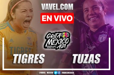 Goles y resumen del Tigres Femenil 5-0 Pachuca Femenil en Liga MX Femenil 2021