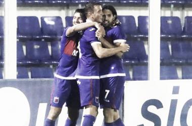 Por otro abrazo de gol y victoria (Foto: Prensa Tigre).