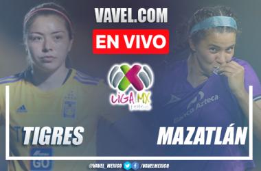 Goles y resumen del Tigres 2-0 Mazatlán Liga MX Femenil