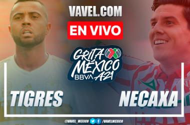 Resumen: Tigres 0-0 Necaxa en Liga MX 2021