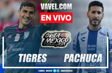 Goles y resumen del Tigres 3-0 Pachuca en Liga MX