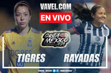 Goles y Resumen del Tigres Femenil 2-1 Rayadas en la Liga MX Femenil Apertura 2021