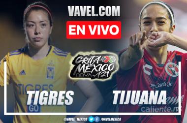 Goles y resumen del Tigres Femenil 3-0 Tijuana Femenil en Liga MX Femenil 2021