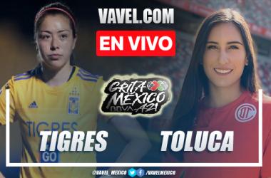 Goles y resumen del Tigres Femenil 4-0 Toluca Femenil en Liga MX Femenil 2021