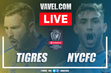 Goals and Highlights Tigres 4-0 New York City FC match on Concachampions 2020