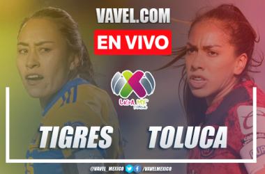 Goles y resumen del Tigres Femenil 2-0 Toluca Femenil en Liga MX Femenil 2021