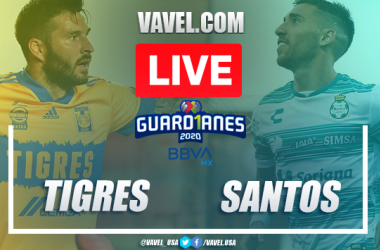 Highlights and Goal of Tigres 2-0 Santos in the Guard1anes 2020
