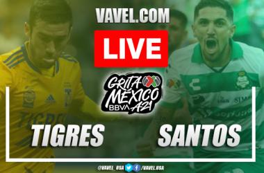 Goals and Highlights: Tigres 1-1 Santos Laguna in Liga MX 2021