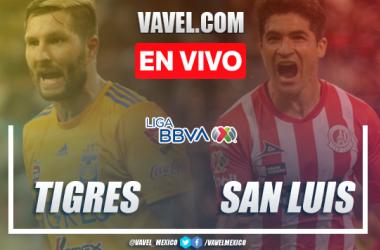 Resumen del Tigres 0-0 Atlético de San Luis en Liga MX 2020