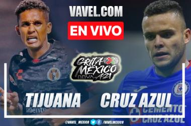 Goles y resumen del Tijuana 0-1 Cruz Azul en Liga MX 2021