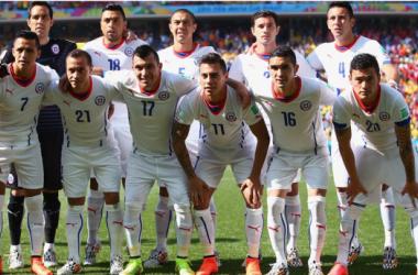 Países Bajos - Chile: puntuaciones de Chile, jornada 3, grupo B