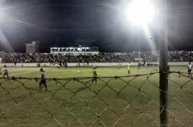 Afogados não sentiu a pressão no Ferreira Lima e despachou o Timbaúba (Foto: Divulgação/Twitter/@FutebolDeRaizes)