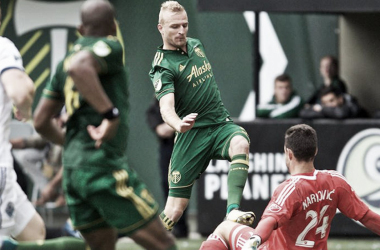 Vytautas, aún en su etapa con los de Portland | timbers.com