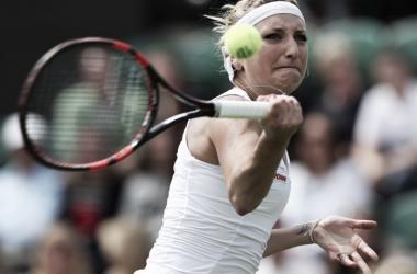 Wimbledon: Number eleven seed Timea Bacsinszky cruises in opener past Luksika Kumkhum