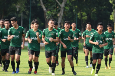 Timnas Latihan Perdana Di Jakarta