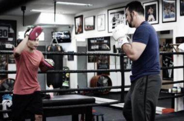 Adrián González incluye el boxeo como parte de su preparación. (Foto: MLB.com)