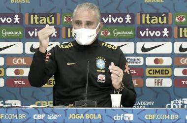 Tite após Paraguai 0 a 2 Brasil (CBF TV / Reprodução)