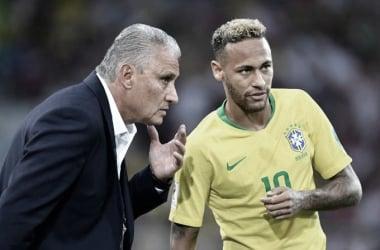 Tite desloca Neymar para jogar pelo meio, como armador (Stuart Franklin/FIFA)
