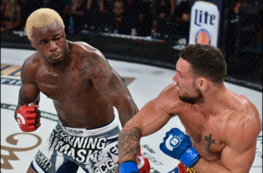 It was an unsuccessful debut for Melvin Guillard as he was out worked by Brandon Girtz. Patricky Freire outlast Saad Awad in grudge match at Bellator 141. / Bellator MMA