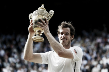 Murray's second Wimbledon title comes three years after his first (photo from thesun.co.uk)