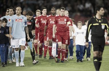 Partido Napoli vs Liverpool en amistoso de Pretemporada | Fuente: SSC Napoli.