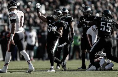 La defensiva los Eagles han dado un paso hacia adelante en este juego (foto eagles.com)