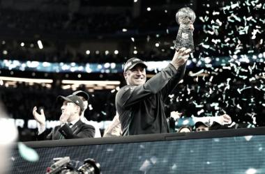 Los Eagles se alzaron con su primer trofeo Vince Lombardi el pasado domingo. | Foto: Philadelphia Eagles