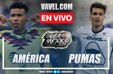 Goles y resumen del América 2-0 Pumas UNAM en Liga MX 2021
