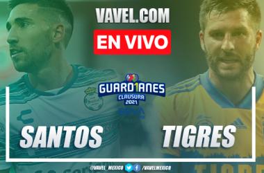 Goles y resumen: Santos 2-0 Tigres en Liga MX Guardianes 2021