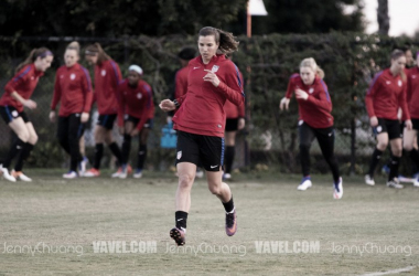 Tobin Heath takes on a new role with Thorns FC. \ Source: Jenny Chuang - VAVEL USA