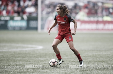 ICYMI: Tobin Heath is listed as questionable. She's unlikely to play in Portland home opener | Source: Jenny Chuang - VAVEL USA