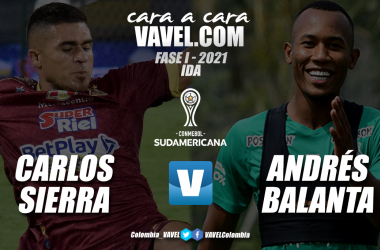 Cara a cara: Carlos Sierra vs Andrés Balanta