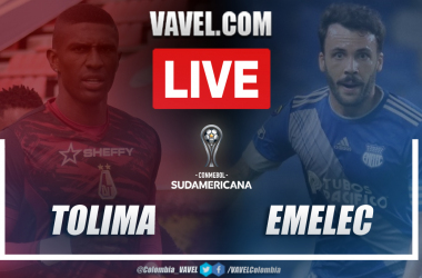 Resumen Deportes Tolima vs Emelec (1-1)en la fecha 3 del grupo G por Copa Sudamericana 2021