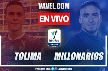 Resumen: Tolima vs. Millonarios (1-1) en final ida por Liga BetPlay 2021-I