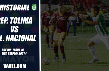 Historial Atlético Nacional vs Deportes Tolima: el dolor de cabeza 'verde' en los últimos años