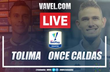 Resumen Tolima vs Once Caldas (2-3) por Liga BetPlay