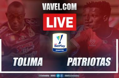 Resumen Tolima vs Patriotas (3-1) en la fecha 8 por Liga BetPlay 2021-I