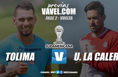 Previa Deportes Tolima vs Unión Deportivo La Calera: definición por el pase a octavos en Sudamericana