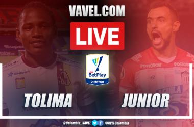 Resumen Tolima vs Junior por Liga BetPlay 2020 (0-1)